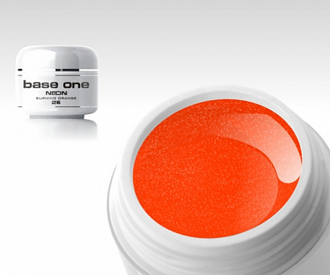 Barevný gel B203 - Pixel Burning orange