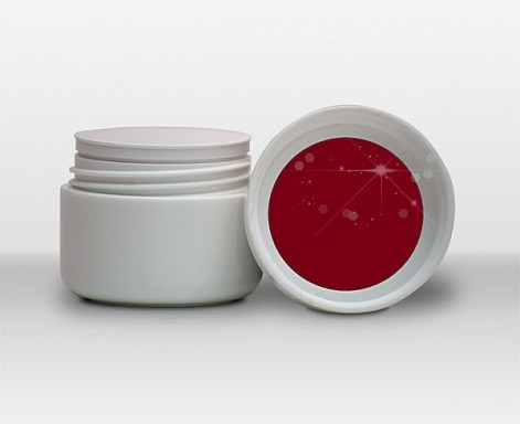 UV gel barevný - Red č.11