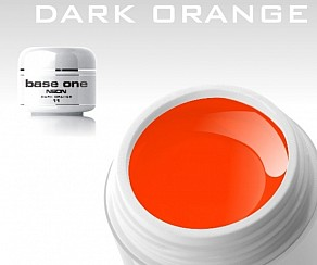 Barevný gel B195 - Neon Dark Orange
